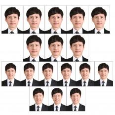 증명사진인화 여권사진인화 8매 포토샵만족100%